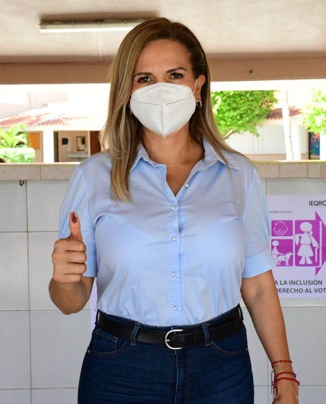 Candidata del PRI-PAN-PRD aventaja a Laura Beristáin en elección para Ayuntamiento de Solidaridad