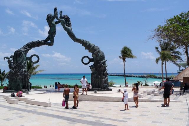 Celebran aniversario de Solidaridad, Playa del Carmen