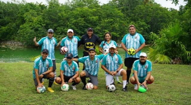 VIAJAN CANCUNENSES A TORNEO NACIONAL DE FOOTGOLF EN CUERNAVACA