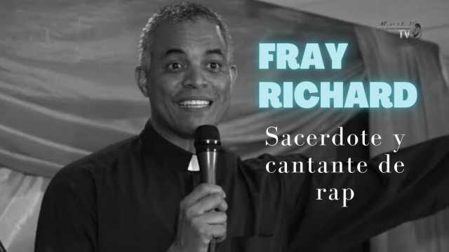 Fray Richard el sacerdote cantante de rap en entrevista