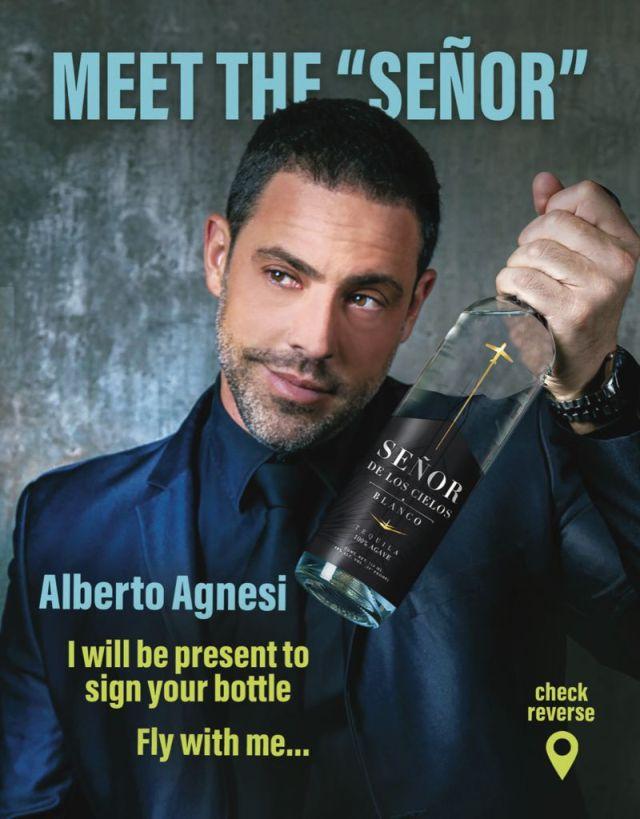 Consolida negocio tequilero el actor Alberto Agnesi