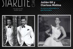 Julián Gil y Clarissa Molina se unen a gala filantrópica