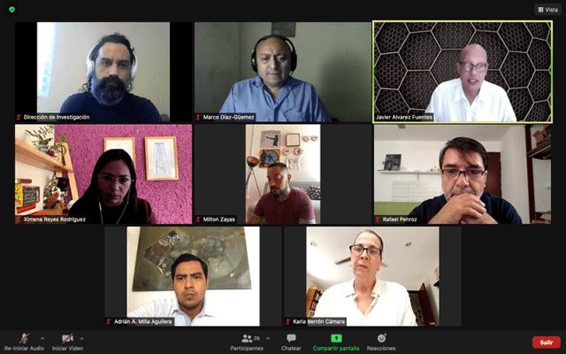 Presentan desafíos de la conectividad en Coloquio virtual