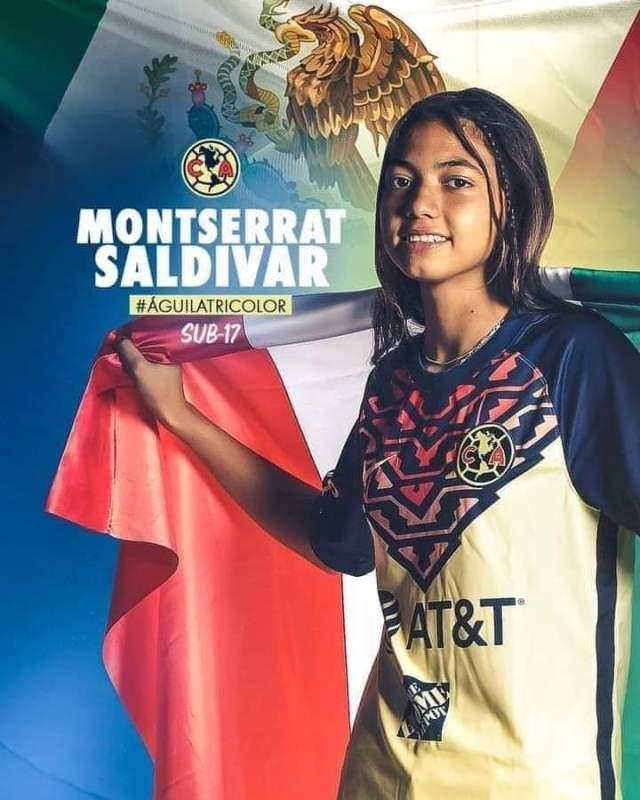 Monserrath Saldivar fue convocada a la selección nacional femenil U-17
