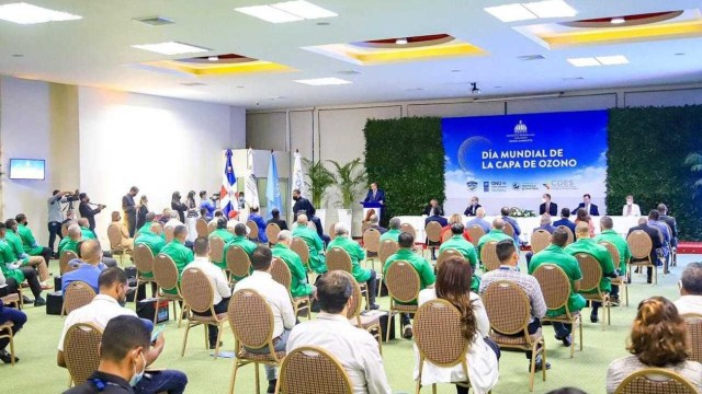 Firman acuerdo República Dominicana y el PNUD para reducir los gases causantes del calentamiento clobal en el país caribeño