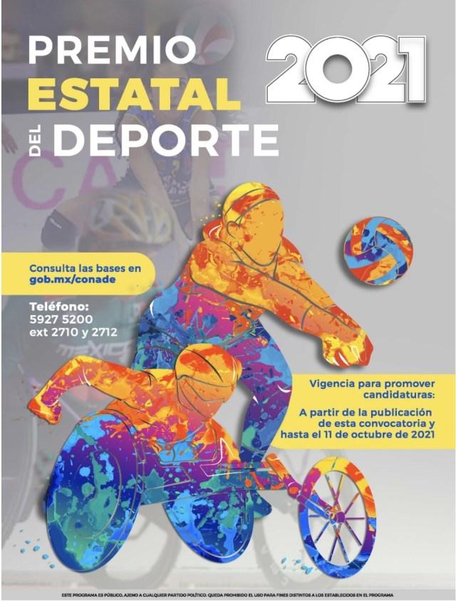Presentan convocatoria al Premio Estatal del Deporte Q. Roo 2021