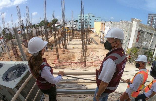 Va al 24 por ciento construcción del Teatro de la Ciudad de Cancún