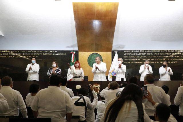 Rinde protesta como Gobernadora de Campeche Layda Sansores