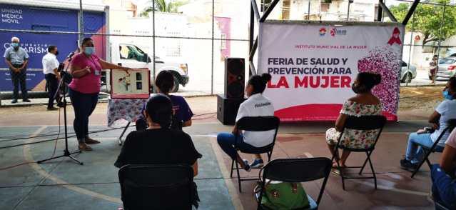 Sensibilizan a cancunenses sobre la importancia de la prevención del Cáncer de mama