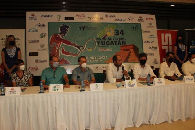 Será Yucatán sede de la 34 Copa Mundial Juvenil de Tenis