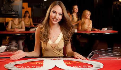 オンラインカジノのライブゲームで遊ぶ