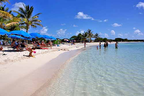 2- plages de saint martin le galion beach caribexpat