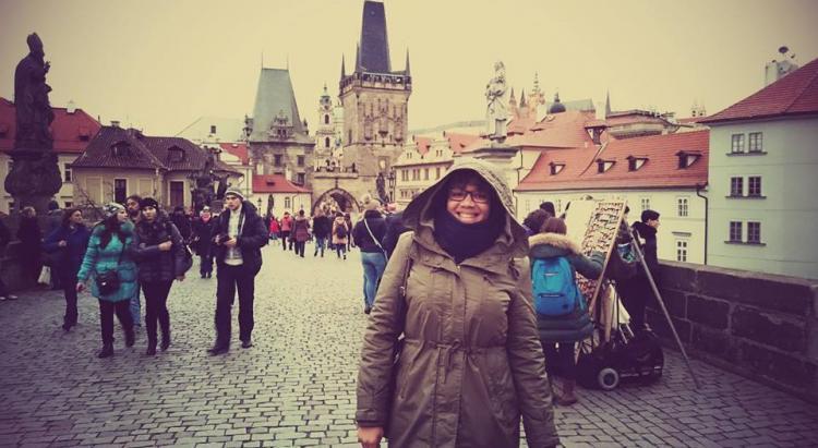 stephanie antillaise a Prague republique tcheque caribexpat
