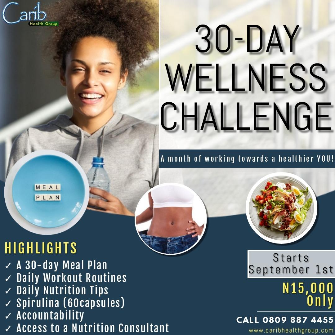 30-day Wellness Challenge