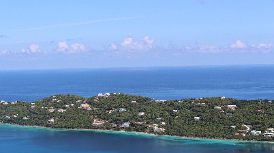 Above: St Thomas, US Virgin Islands