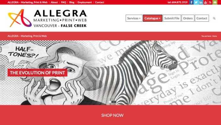 Allegra Printing Vancouver-BC