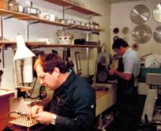 Jade stone cutting workshop