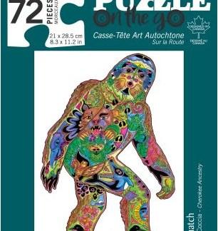 72 piece puzzle sasquatch