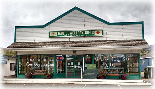 Cariboo Jade Shop Storefront