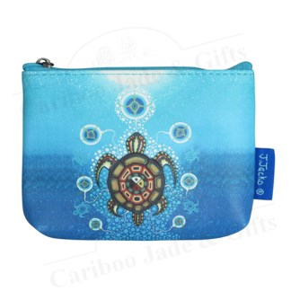 medicine turtle coin purse