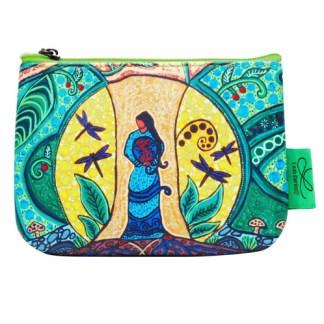 strong earth woman coin purse