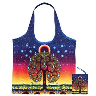 """""""tree of life"""" reusable shopping bag"""