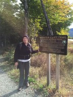 Maura at Trailhead