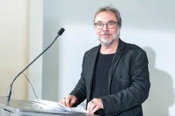 En plus d'animer le gala, Christian Bégin est finaliste pour le Laurier du public.