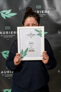 Stéphanie Labelle de la Pâtisserie Rhubarbe, est finaliste pour Chef pâtissier de l'année