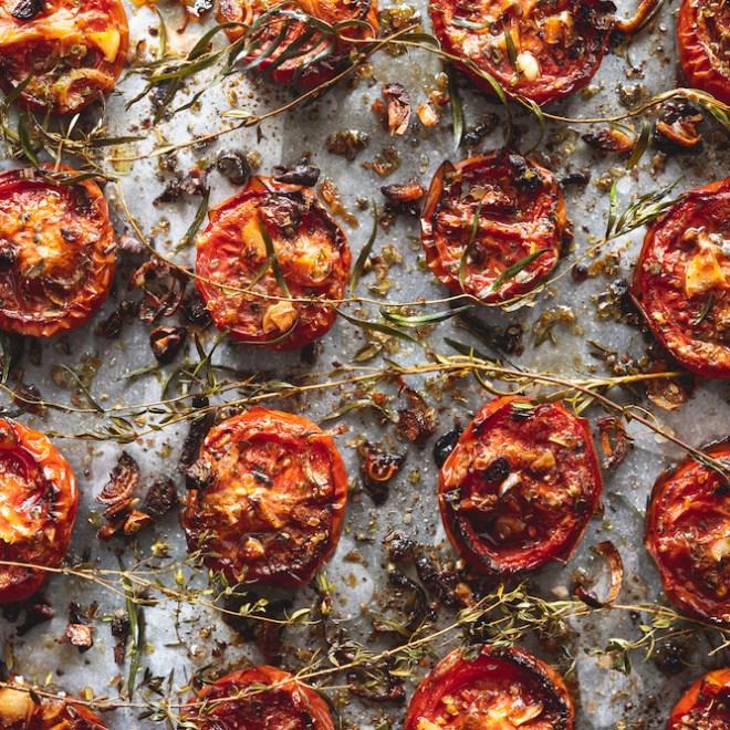 Tomates confites à la provençales