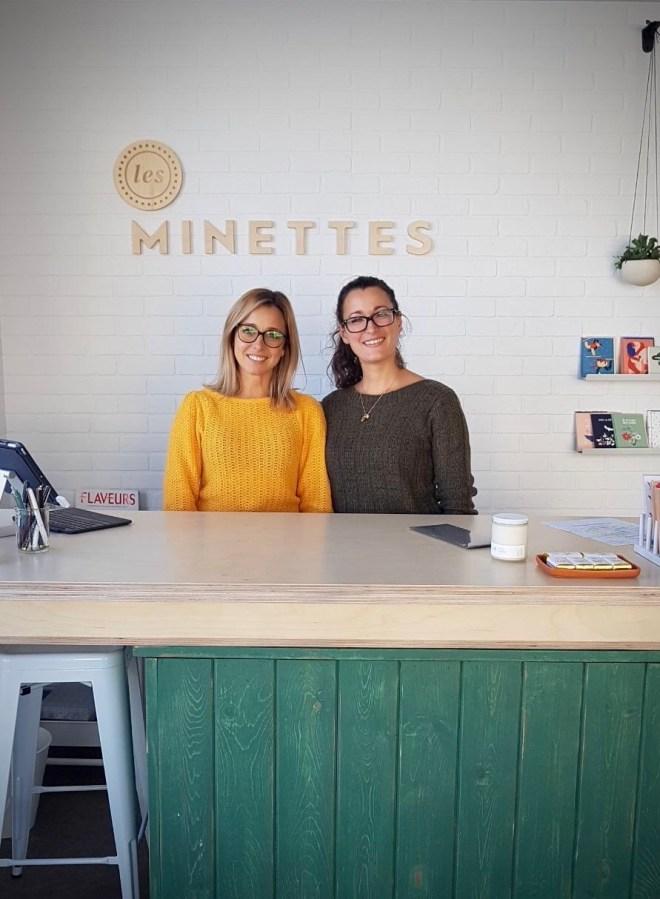 Les Minettes Pascale et Marie-Claud Rémond