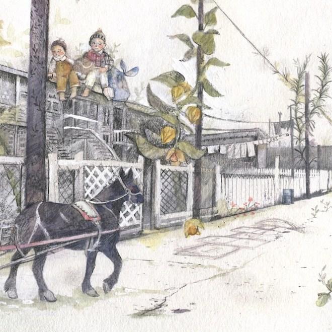 ruelle montréalaise