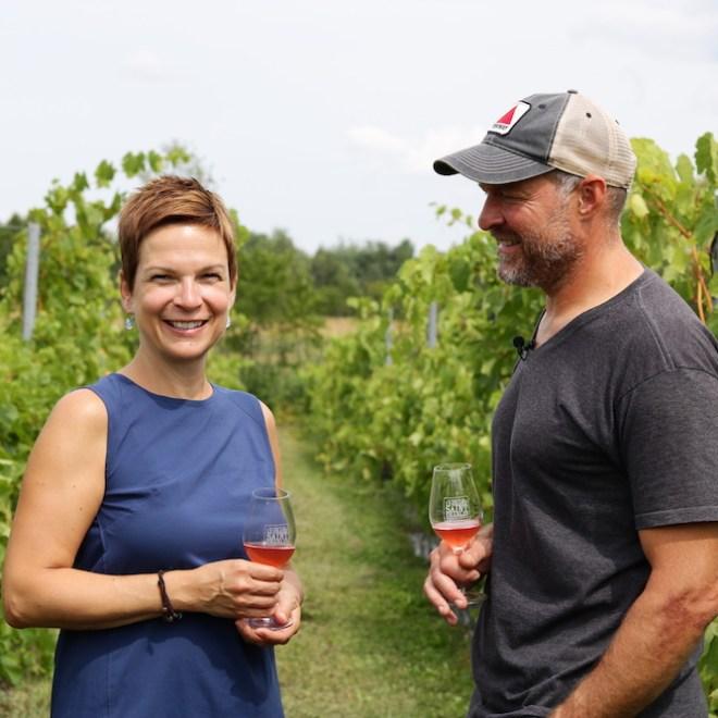 Mylène Gaudette et Martin Laroche du Grand St-Charles