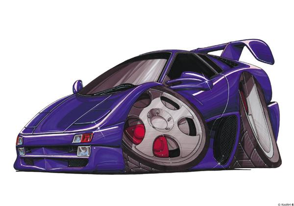 Lamborghini Diablo Violette