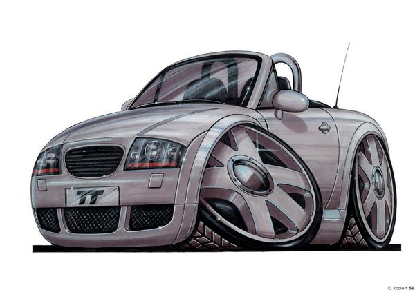 Audi TT Sport Grise