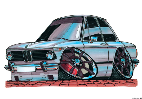 BMW 2002 Grise