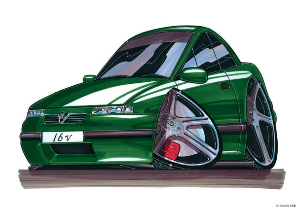 Opel Calibra Verte