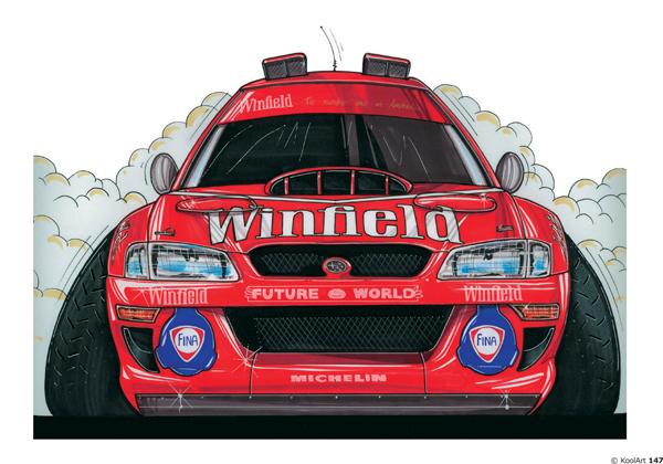 Subaru Impreza Rouge