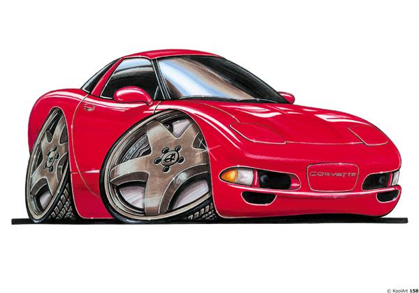 Chevrolet Corvette Sport Rouge