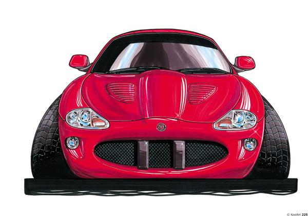Jaguar XKR Sport Rouge