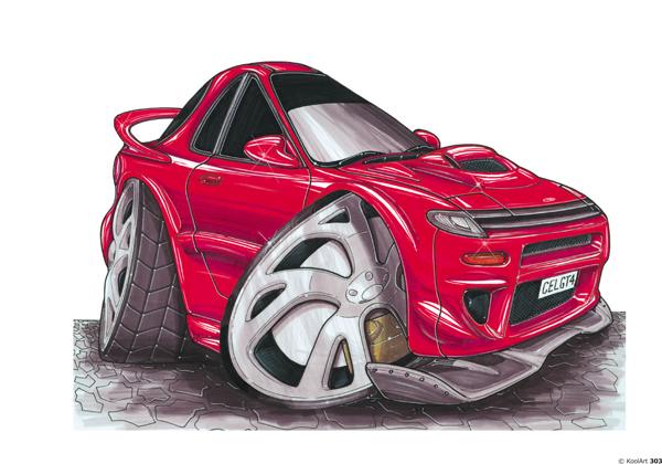 Toyota Celica GT4 Rouge