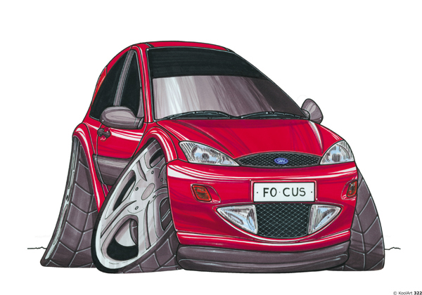 Ford Focus Rouge