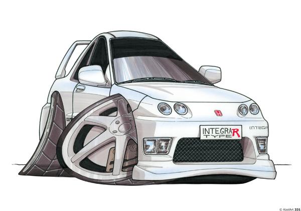 Honda Integra Type R Blanche