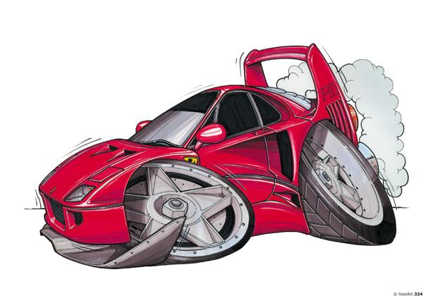 Ferrari F40 Sport Rouge