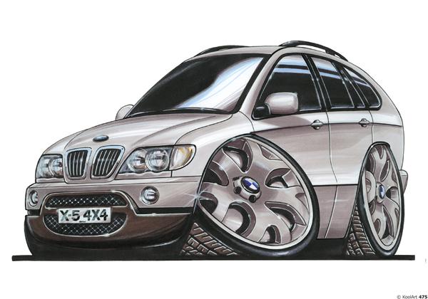 BMW X5 4X4 Gris