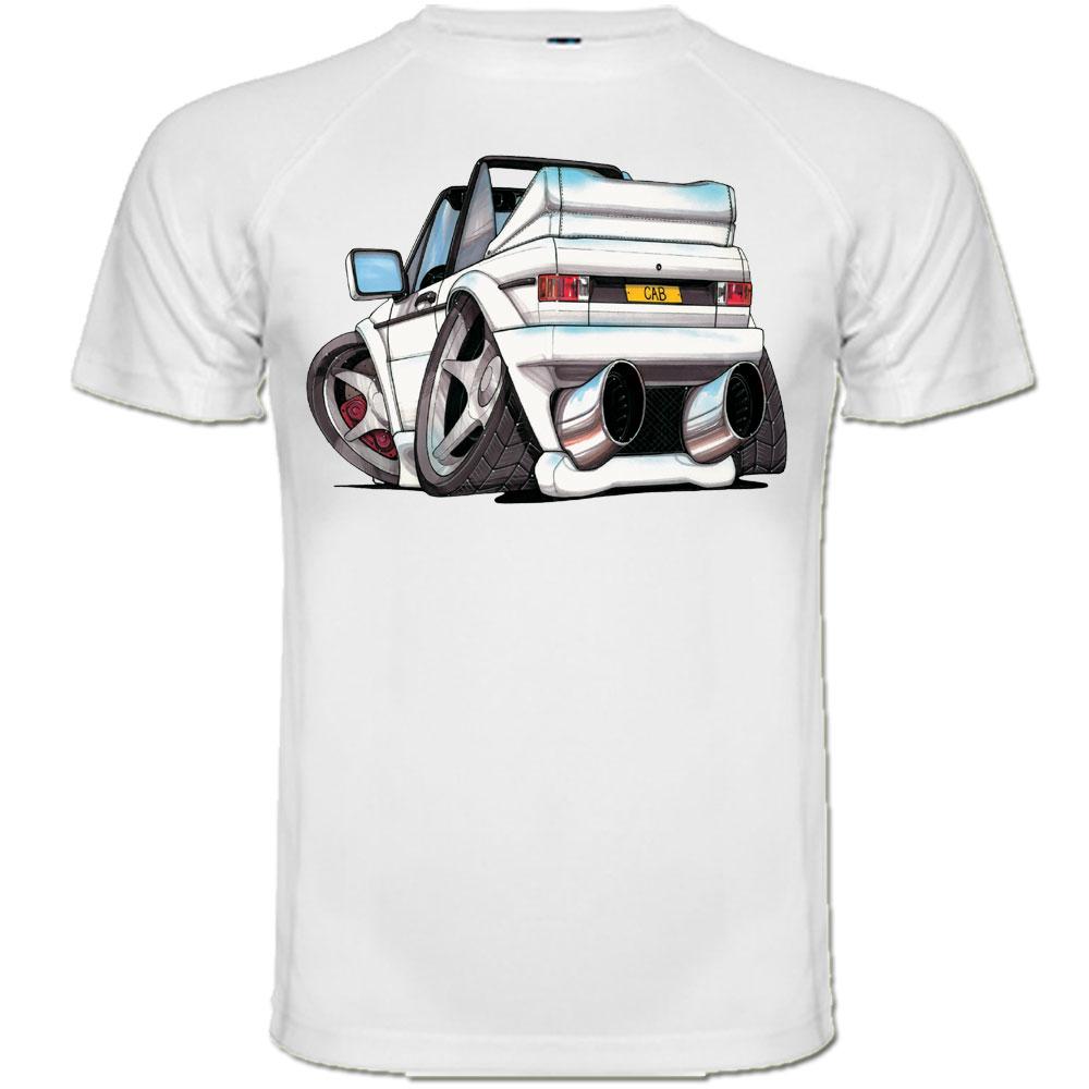 t shirt volkswagen vw cabriolet