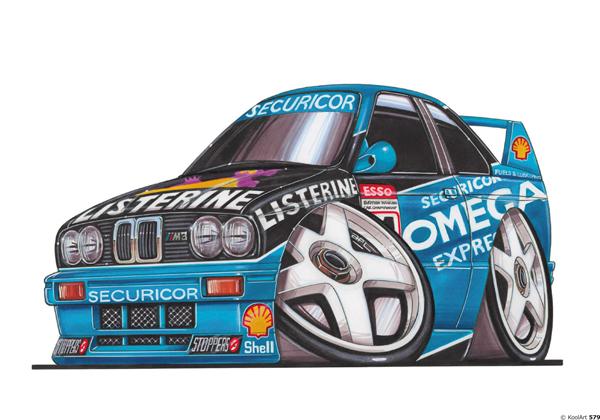 BMW E30 Rallye Bleue