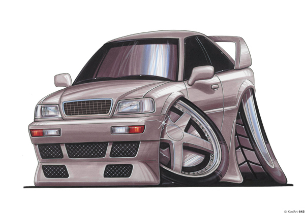 Audi 80 Grise