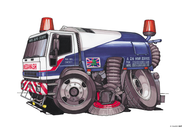 Camion Balayage MegaWash