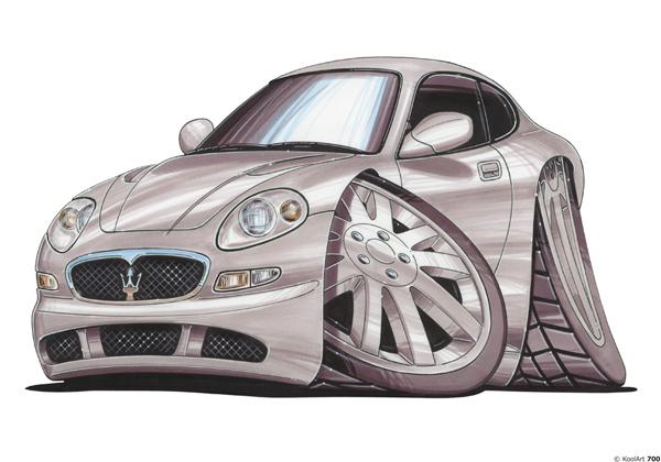 Maserati Coupé Grise